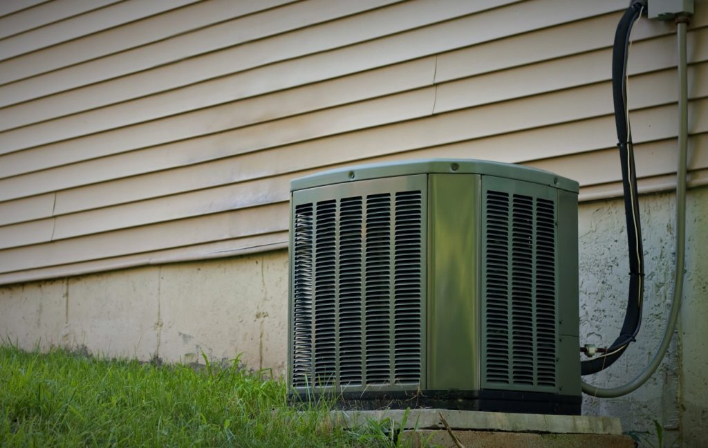 Residential Central Air Conditioner Unit